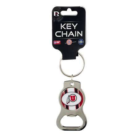 Rico Licensed Collegiate Key Chain Utah, 1.0 (Licensed Collegiate Rhinestone)
