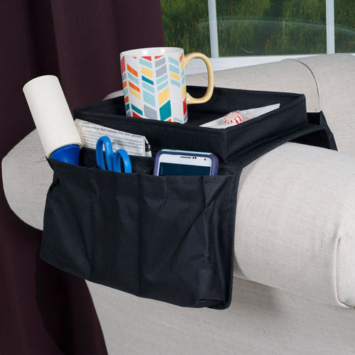 Trademark 6-Pocket Arm Rest Organizer with Table-Top