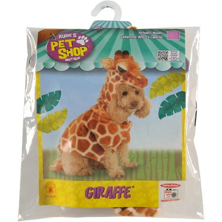 Rubie's Giraffe Hoodie Pet Costume - Medium