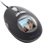 Interlink VP6154 LCD Mouse - Optical - Cable - Black - USB - 800 dpi - Scroll Wheel - 3 Button(s) - Symmetrical