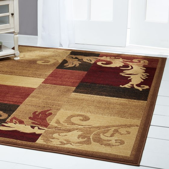 Home Dynamix Catalina Olefin Rug Brown Red