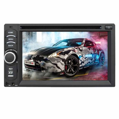 EinCar Android 4 4 Quad Core 6 2 Inch Capacitive Touch Screen Car DVD  Player In Dash GPS Navigation Vehicle Stereo AM/FM Radio Receiver Double  Din Car