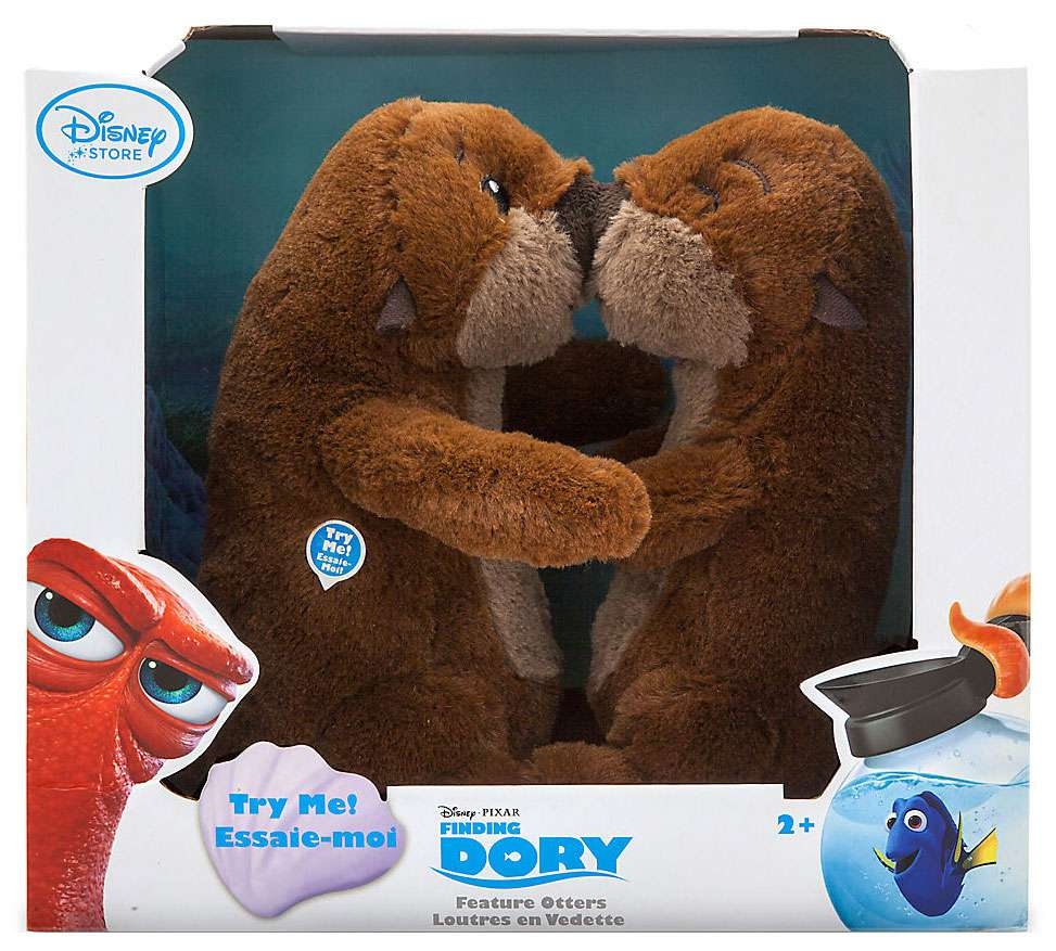 Disney / Pixar Finding Dory Otters Interactive Plush