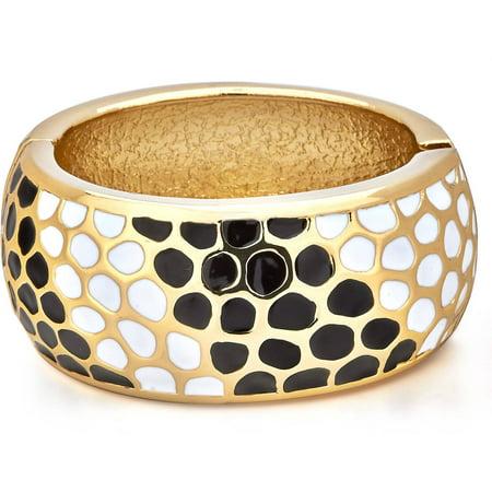 Animal Pattern Enhancer Bangle Bracelet for Charge Gold Vine Pattern Bracelet