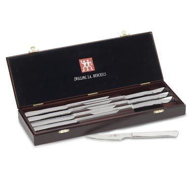 Zwilling J.A. Henckels Twin 8pc Steak Knife Set w/ Box