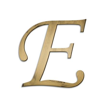 Individual script letters wall decor letter e for Decoration 5 letters
