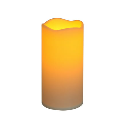 "Mainstays 3"" x 6"" Flameless LED Pillar Candle"