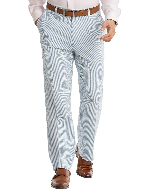 Famous Name Tommy Hilfiger Mens Slim Fit Cotton Stretch Stripe
