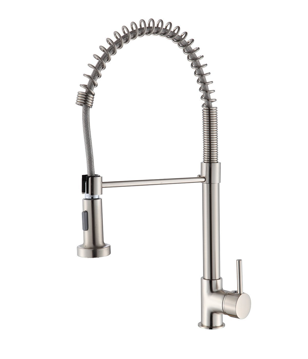 Buy Hive Kitchen Faucet Brushed Nickel Pull Down Swivel Spout Out Sink  Mixer Tap Single