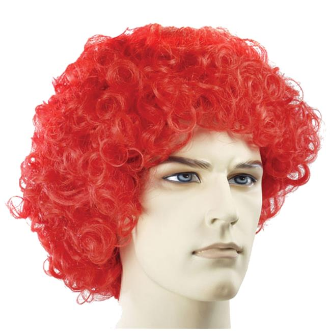 Morris Costumes LW106RD Curly Clown Fade Red Wig Costume - image 1 of 1