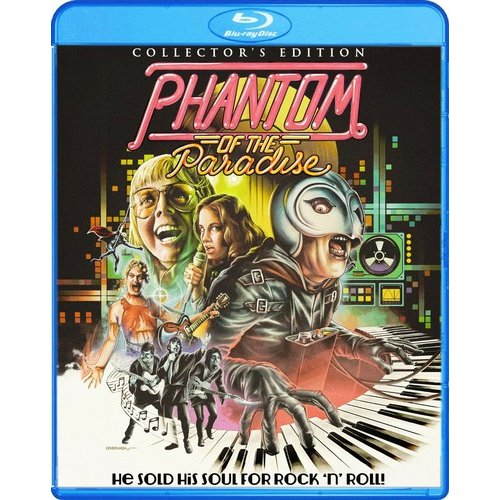Phantom Of The Paradise (1974) (Blu-ray + DVD) (Widescreen)
