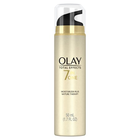 Olay Total Effects 7-in-One Moisturizer Mature Therapy Treatment, 1.7 fl (Boots No 7 Face Cream For Mature Skin)