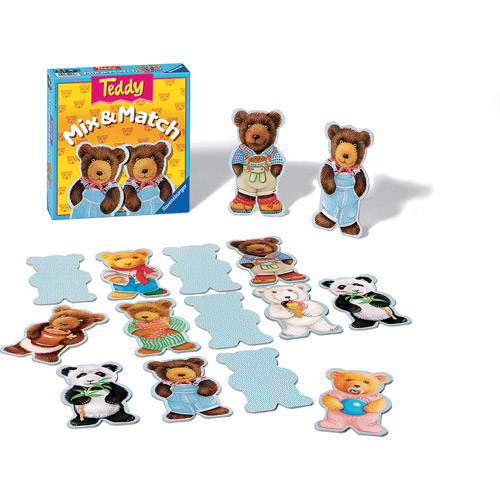 Ravensburger Teddy Mix and Match Children's Game