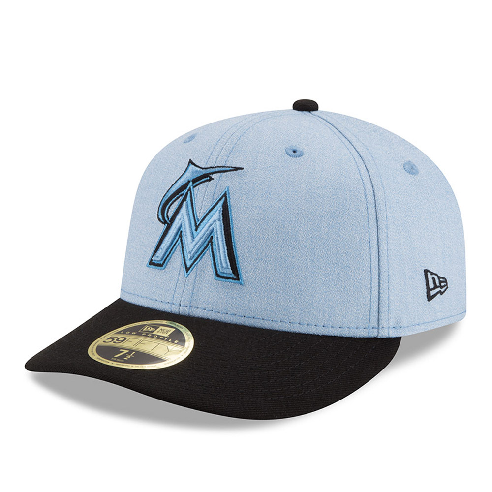 size 40 c9351 32e01 ... discount product image miami marlins new era 2018 fathers day on field  low profile 59fifty fitted