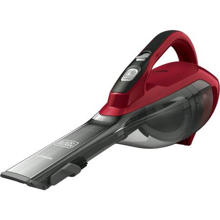 BLACK+DECKER Cordless Lithium Hand Vacuum (Chili Red),