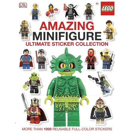 Ultimate Sticker Collection: Amazing LEGO® Minifigure : More Than 1,000 Reusable Full-Color Stickers