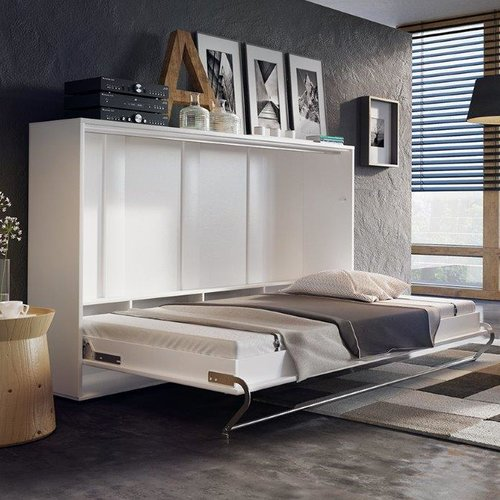 The Collection German Furniture Horizontal Concord Pro Wall Full/Double  Murphy Bed