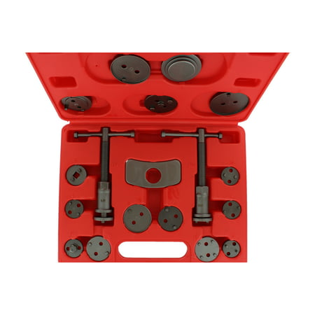 (ABN Front and Rear Caliper Brake Rewind and Piston Compression 18-Piece Tool Kit)