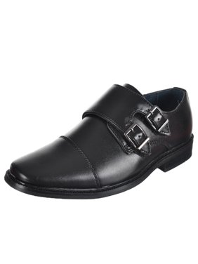 """Joseph Allen Boys' """"Double Buckle"""" Dress Shoes (Toddler Sizes 9 - 12)"""