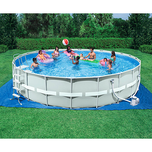 Metal-Frame 24' x 52'' Pool