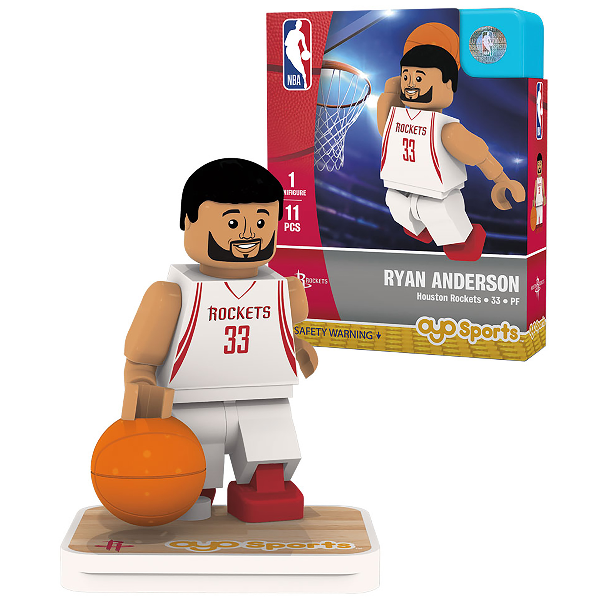 Ryan Anderson Houston Rockets OYO Sports Player Figurine - No Size