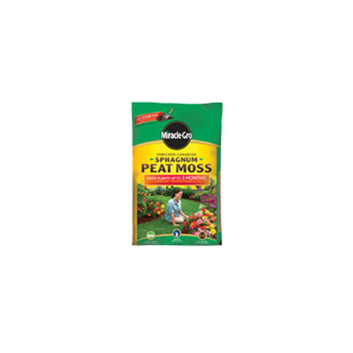 Miracle-Gro Enriched Canadian Sphagnum Peat Moss