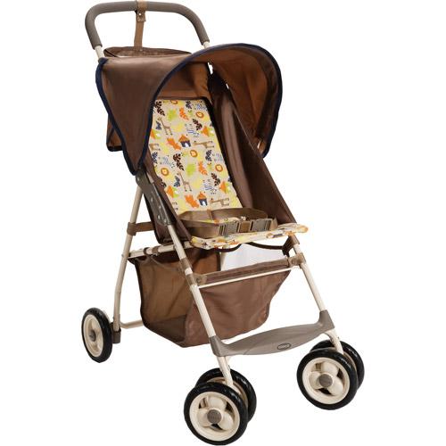 Cosco - Deluxe Comfort Ride Stroller, Jungle Harmony