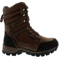 Field & Stream Men's Silent Tracker 1000g Waterproof Field Hunting Boots, Brown, 8.5