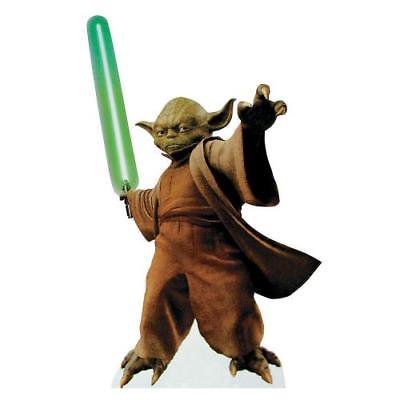 IN-13577263 Yoda With Lightsaber Stand-Up 1 Piece(s) for $<!---->