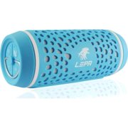 LEPA BTS02 2.0 Speaker System - 8 W RMS - Portable - Battery Rechargeable - Wireless Speaker(s) - Blue - 40 Hz - 20 kHz - Bluetooth - Near Field Communication - USB - SCMS-T, Advanced Audio Codin