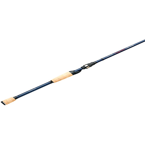 Ardent Denny Brauer Spinning Fishing Rod, Blue Black 7', Medium Fast by Ardent
