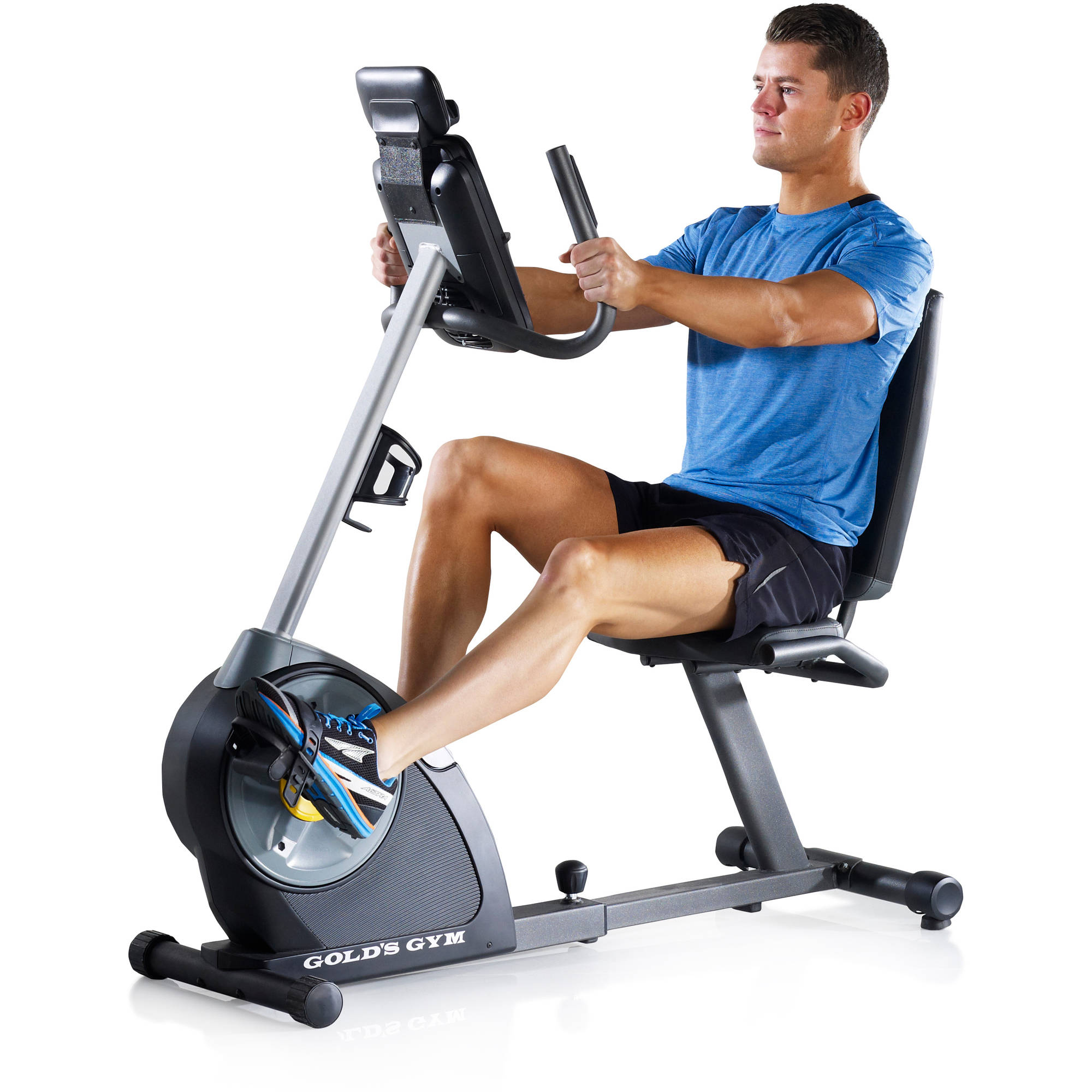 Gold's Gym Cycle Trainer 400 Ri Recumbent Exercise Bike ...