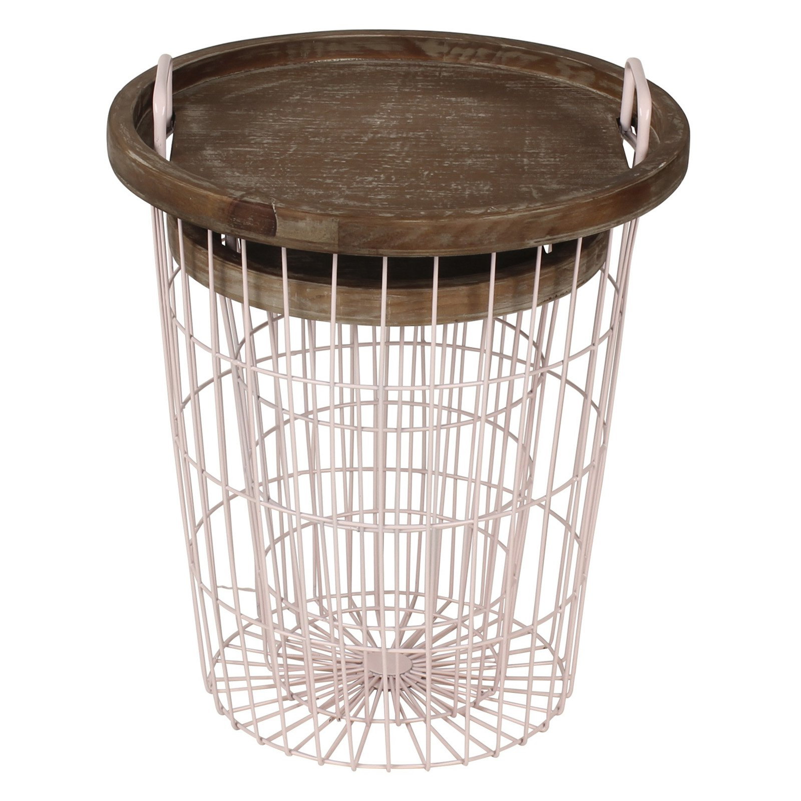 Kate and Laurel Tenby Nesting Accent End Tables