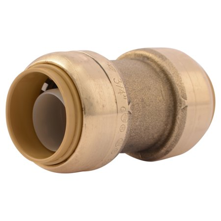 "Shark Bite U016LFA 3/4"" SharkBite Low Lead Straight Coupling"