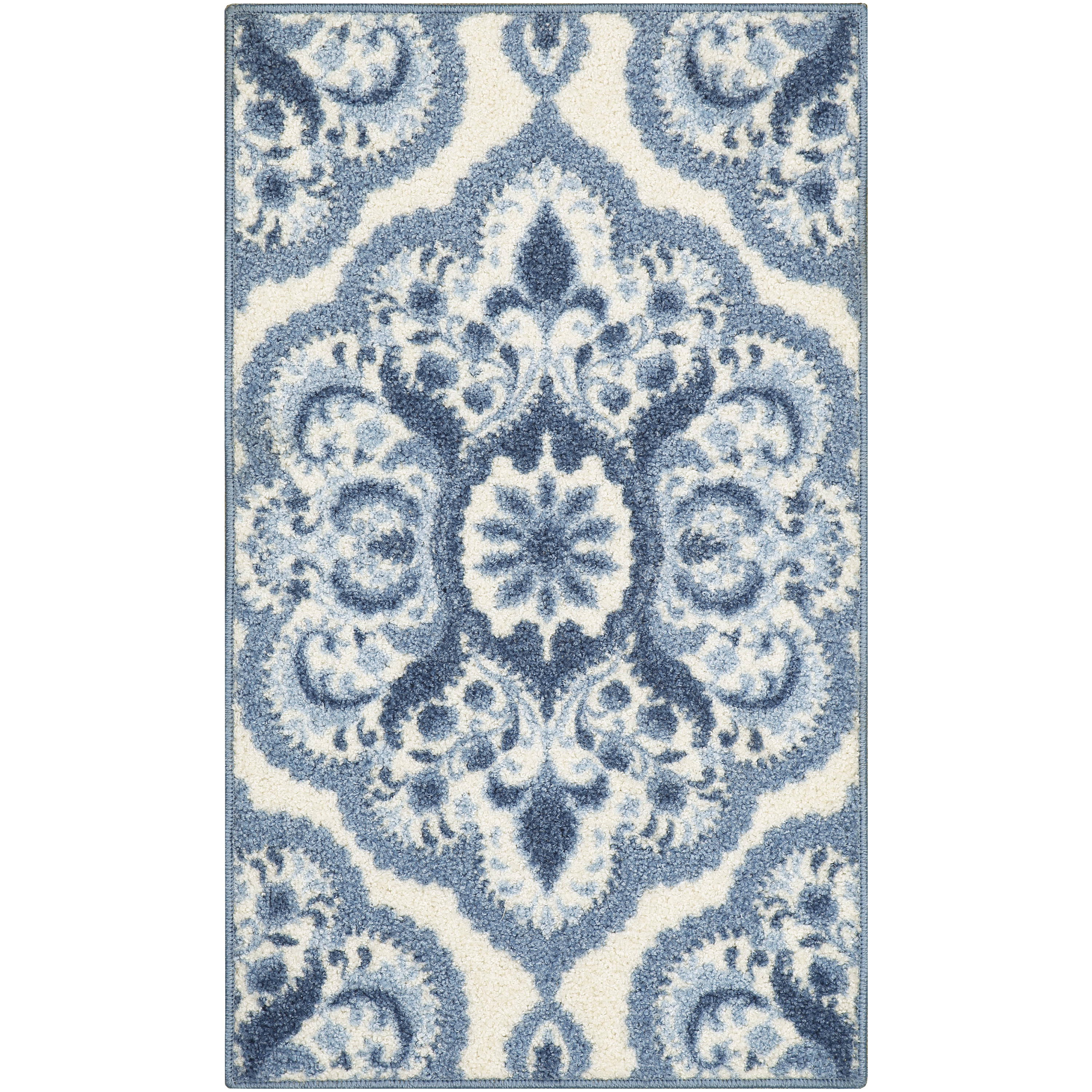 Mainstays Roxanne Textured Print Area Rug or Runner, Multiple Sizes and Colors