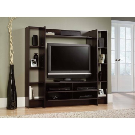 Sauder Beginnings Entertainment Wall System For Tvs Up To
