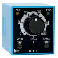 IDEC Corporation RTE-B1AF20 Relay; SSR; Timing; Multi-Function; DPDT; Cur-Rtg 10A; Ctrl-V 100-240AC; Blade ()