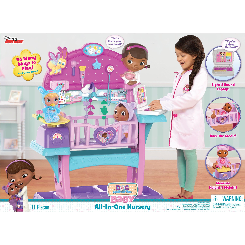 Disney Junior Doc McStuffins Baby All In One Nursery   Walmart.com