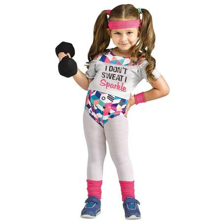 Li'l Miss Fit Toddler Costume