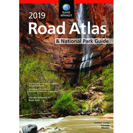 - Rand McNally 2019 National Park Atlas & Guide