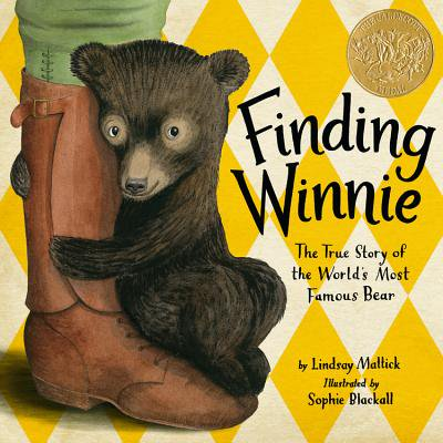 Finding Winnie: The True Story of the World's Most Famous Bear (Hardcover) A woman tells her young son the true story of how his great-great-grandfather, Captain Harry Colebourn, rescued and learned to love a bear cub in 1914 as he was on his way to take care of soldiers' horses during World War I, and the bear became the inspiration for A.A. Milne's Winnie-the-Pooh.