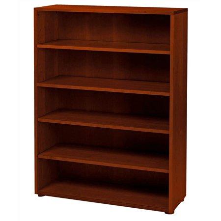 kids 5 shelf wooden bookcase. Black Bedroom Furniture Sets. Home Design Ideas