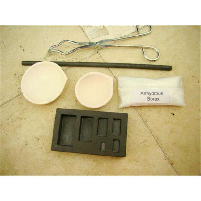 Make Your Own Gold Bars 600 Kit Gold Silver Melting Kit 0...