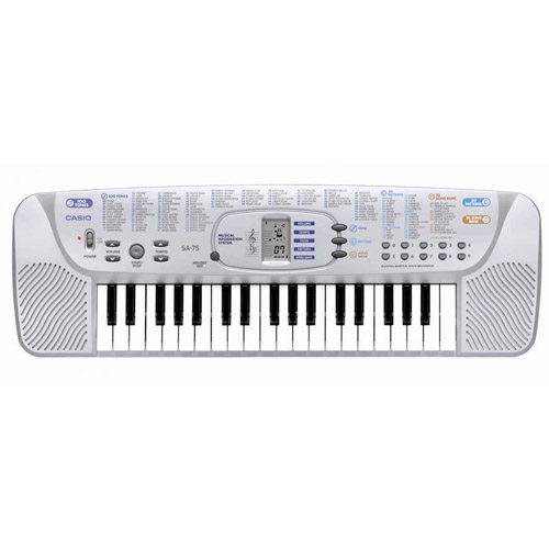 Casio SA-76 Mini 44-Key Portable Keyboard by Casio Computer Co., Ltd
