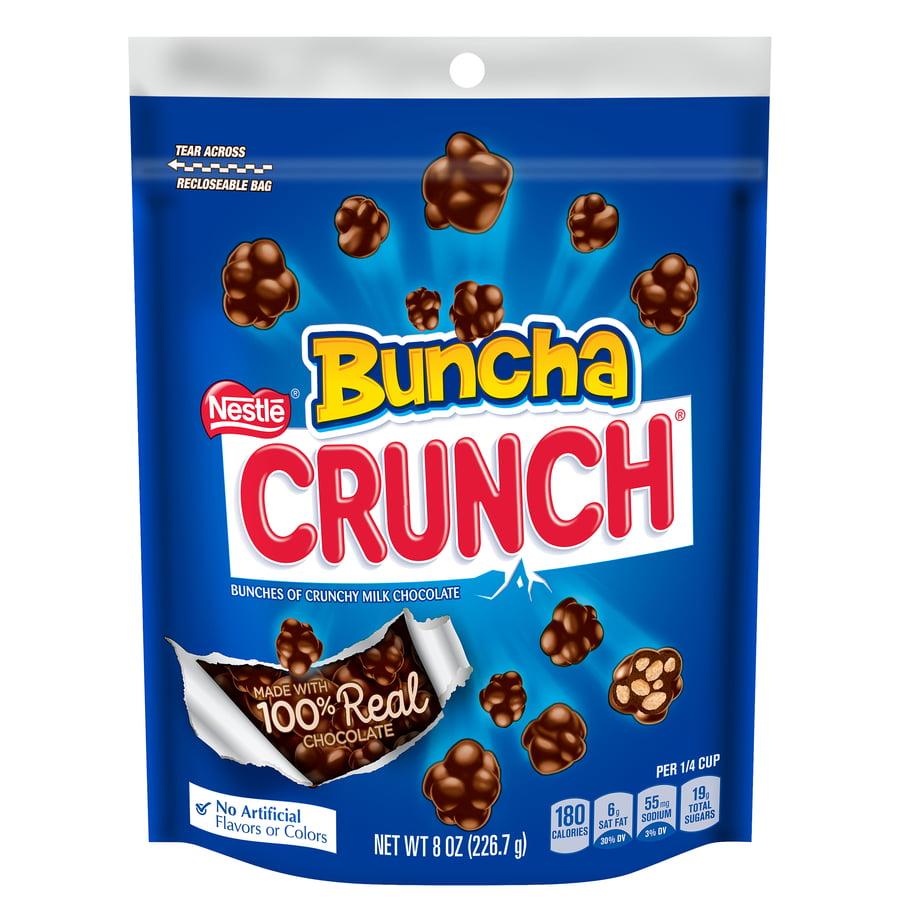 Nestle Buncha Crunch Candy Bars, 8 Oz.