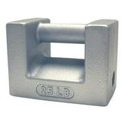 RICE LAKE Calibration Weight, 25 lb 12833
