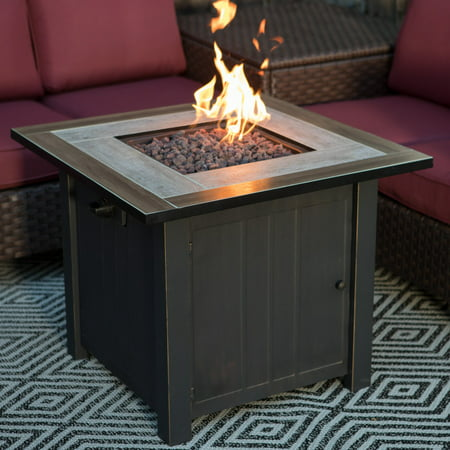Coral Coast Middleton Gas Fire Pit Table (Outdoor Living Fire Pits Table)