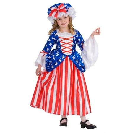 Girls Betsy Ross Child Costume](Rick Ross Halloween)