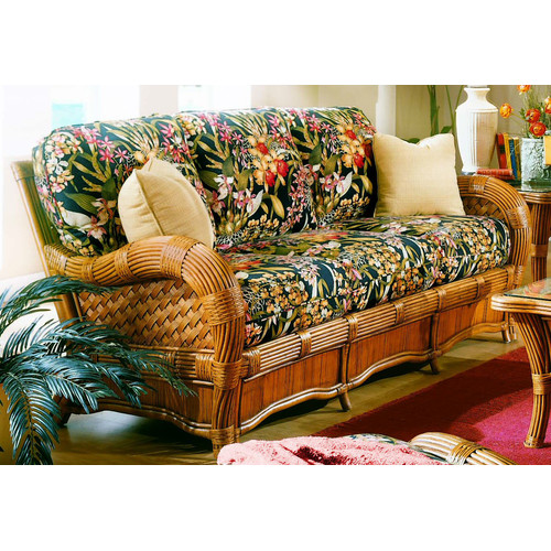 Spice Islands Wicker Kingston Reef'' Sofa