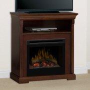 Dimplex Thorton Entertainment Center Electric Fireplace - Logs